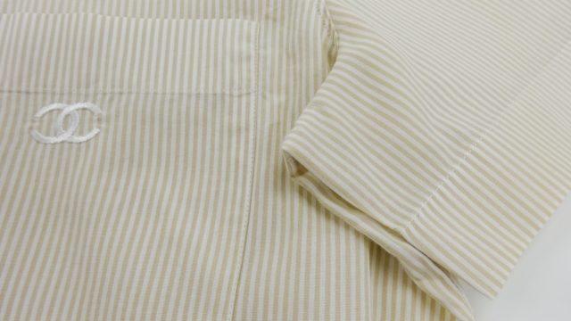 シャネルシャツ脇染み抜き1